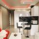 Design studio apartment of 18 square meters. m
