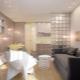 Apartament typu studio o powierzchni 28 metrów kwadratowych. m