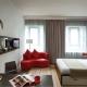 Design studio apartment of 30 square meters. m