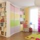 Glidande garderob till barnkammaren