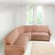 Omslag för hörn soffa