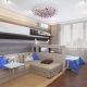 Design living room-bedroom area of ​​14-15 square meters. m