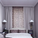 Design a small bedroom of 9 square meters. m