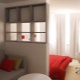 Design bedroom-living room of 16 square meters. m