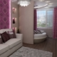 Design bedroom living room of 18 square meters. m