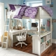 Bunk beds with table