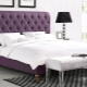 Beds with soft headboard