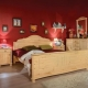 Bedroom furniture from solid wood