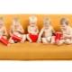 Folding sofa without armrests