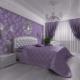 लिलाक बेडरूम