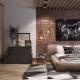 Chambre style loft