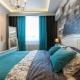 Välja gardinens färg i sovrummet