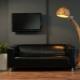 Дървени подови лампи