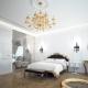 बड़े बेडरूम डिजाइन