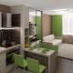 Design studio lägenhet 25 kvadratmeter. m