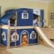 Våningssäng i barnkammarens inredning