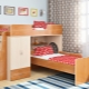 Bunk bed Legend in the interior of the nursery