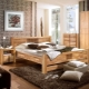 Beds from solid oak