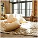 Camel wool cushions