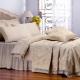 Dessus de lit en soie