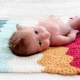 Knitted blankets for newborns