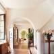 Arcos de yeso en diseño de interiores