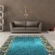 Turquoise carpets: bright solutions in the interior