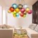 Цветни полилеи и модели с цветни нюанси