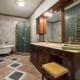 Vad borde vara linoleum i badrummet?