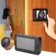 Kamera i dörren kikhål med inspelning