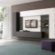 Möbler väggar för TV i modern stil