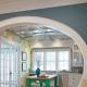 Arcos interiores de placas de yeso: una solución elegante para el interior.