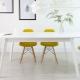 Chaises en plastique pour la cuisine: le pour et le contre