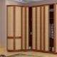 Armoire à portes accordéon