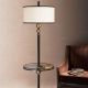 Floor lamps with a table