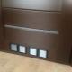 Ventilation grilles for doors