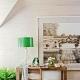 Gröna bordslampor