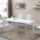 सफेद टेबल: डिजाइन का चयन करें