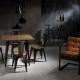 Chaise de style loft