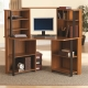 How to choose a corner computer desk with a rack?