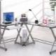 Quelle devrait être la table d'ordinateur en verre d'angle?