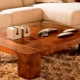 Coffee table: fashion ideas in the interior