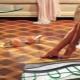 Linoleum för golvvärme