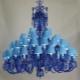 Полилеи в син цвят: комбинация в интериора