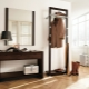 Floor hangers in the hall: ideas for a modern interior