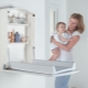 Wall changing table - space saving in the nursery