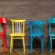 Egenskaper av stolar med ryggstöd