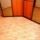 The floor in the hallway: choose coverage