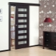 Glidande interroom enkel dörr: designfunktioner