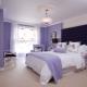 Lilac wallpapers: en elegant inredning i ditt hem